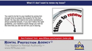 lease renew